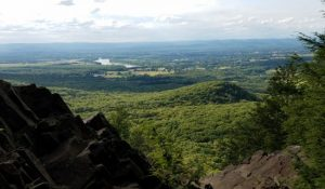 View from Mount Hitchcock in the Holyoke Range.